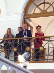 Die Traumeisterin übergab zur Eröffnung das Wort an den Oberbürger der Stadt Regensburg Joachim Wolbergs.