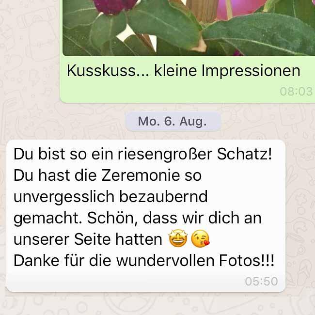 Trauredner München, Traurednerin Anja Hackl, Sängerin, freie Trauung